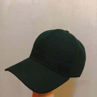 基本素面黑色鴨舌帽