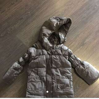 United Colours Of Benetton Down Jacket Brown