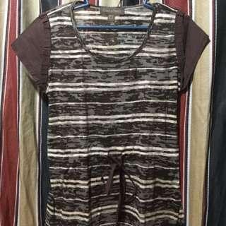 Plains & Prints Brown Tshirt