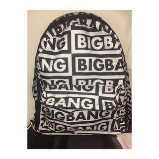 BIGBANG 日本場限定周邊 後背包