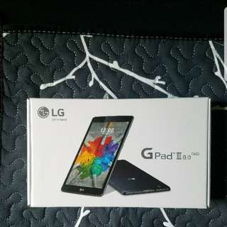 LG - G Pad 3 - 8.0 - Sealed in box (No negotiate, Final price, 不議價)