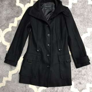Zara wool blend coat size small