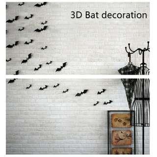 PVC蝙蝠立體壁貼
