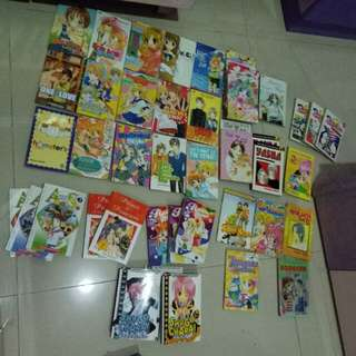 Aneka komik preloved 90% good cond, free ongkir shopee buy up to 40000