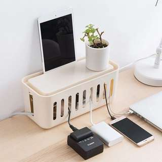 Cable Organizer for Desk and Tabletop