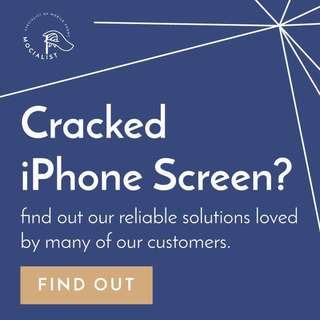 Crack your iPhone? Call us today! @0129629445