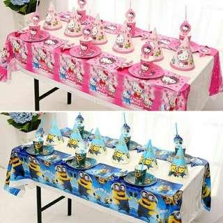 六人份生日派對套餐 kitty派對 佩佩豬派對