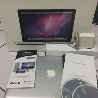 Macbook Pro 13 inch mid 2010 RAM 8GB HDD 1TB