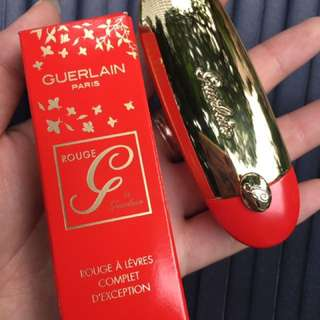 【PO】Guerlain Rouge G 2018 CNY Edition 25