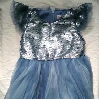 Blue Baby Dress/Gown
