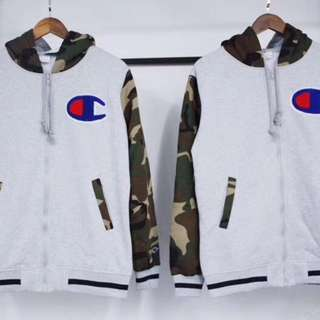 Champion Japan Camo/Camouflage Jacket Hoodie