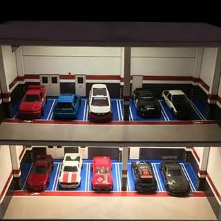 Diorama indoor parking