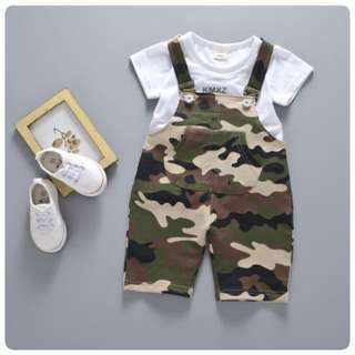 SET OVERALL ARMY