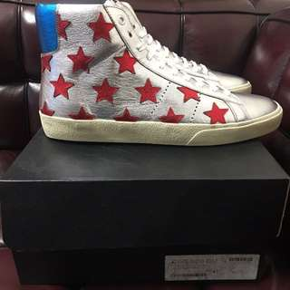 全新Saint Laurent Paris star sneaker new Sz 43 for