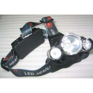 Cree T6 Headlamp (Head light and charger) . No battery inside