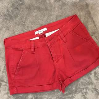 Authentic Forever21 Red Shorts