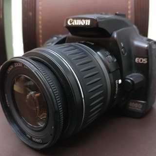 Canon 400d With Lens