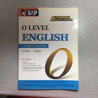 'O' Level English TYS (2000-2009)