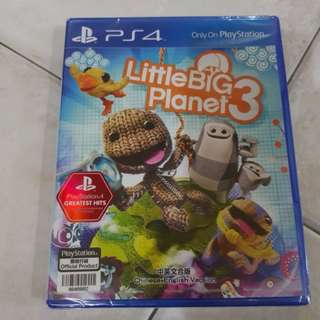 (NEW) PS4 Little Big Planet 3