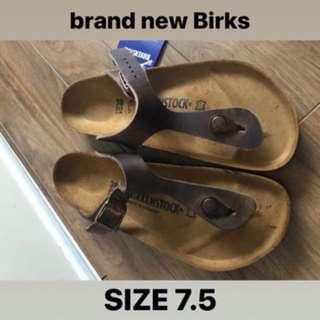 Brand New w/ Tags Birkenstock Sandals