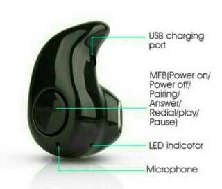 Meni bluetooth wireless headset