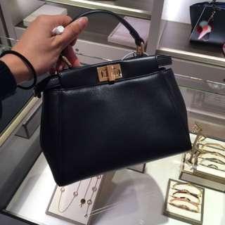 Fendi peekaboo Handbags 全新正品代購
