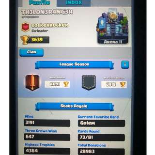 play store account - Clash of clash (coc) and clash royale