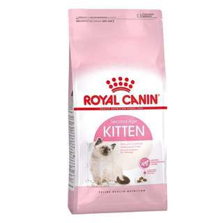 BN Royal Canin Second Age Kitten Dry Cat Food