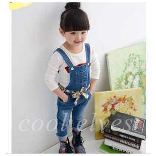 SET OVERALL JEANS