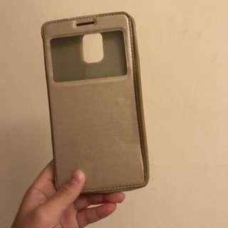 金色note4 手機殻