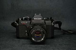 Tested Ricoh KR-5 super film camera with 55mm f2.2 lens 新手相機