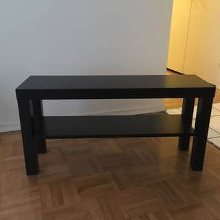 Black TV Stand Cabinet