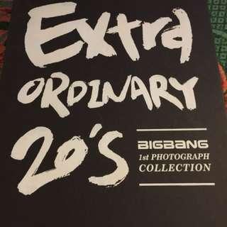 BIG BANG VERY COLECTABLE item Book!