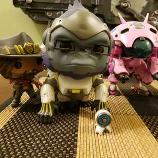 Overwatch Funko Pop set