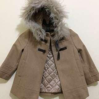 Zara Coat (size 3-4 tahun) No Nego