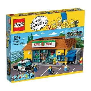 LEGO 辛普森系列 71016 超市