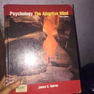 Psychology: The Adaptive Mind by James Nairne (3rd ed.)