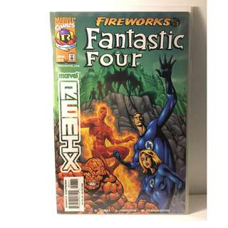 Marvel Remix: Fantastic Four - Fireworks #1 - Marvel Comics