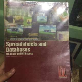 Spreadsheets and Databases MA Excel and MS Access (2009)