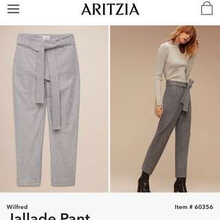 Aritzia Wilfred Jallade pants size 00