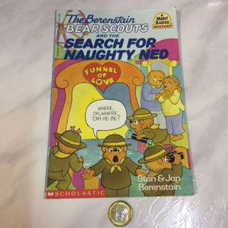 The Berenstain Bear Scouts book