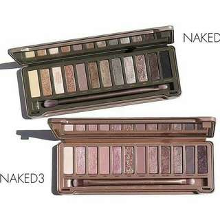 NAKED 2&3 URBAN DECAY
