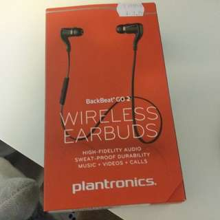 Plantronic backbeat 2 go wireless