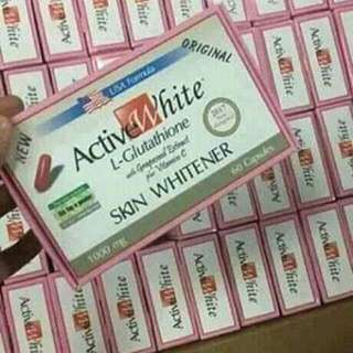 Active white capsule