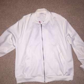 Zara thin bomber jacket