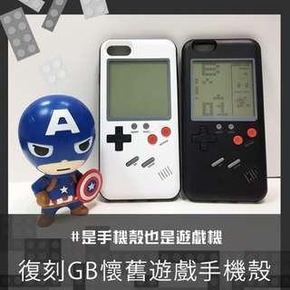 iPhone 復古遊戲機保護殼(內置多款遊戲)