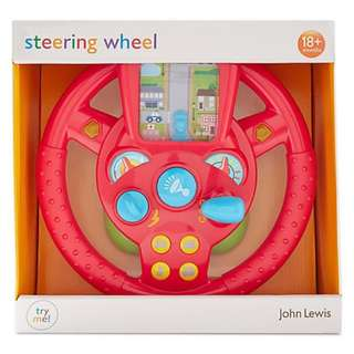 Steering interactive toys