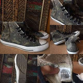 AUTHENTIC CONVERSE CAMOUFLAGE