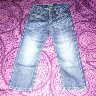 united colour of benetton kid jeans