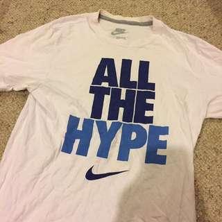 Nike slogan logo tshirt
